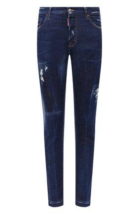 Мужские джинсы DSQUARED2 синего цвета, арт. S71LB0789/S30342 | Фото 1