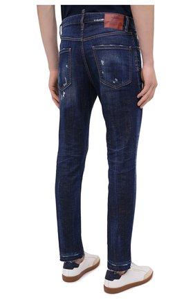 Мужские джинсы DSQUARED2 синего цвета, арт. S71LB0789/S30342   Фото 4