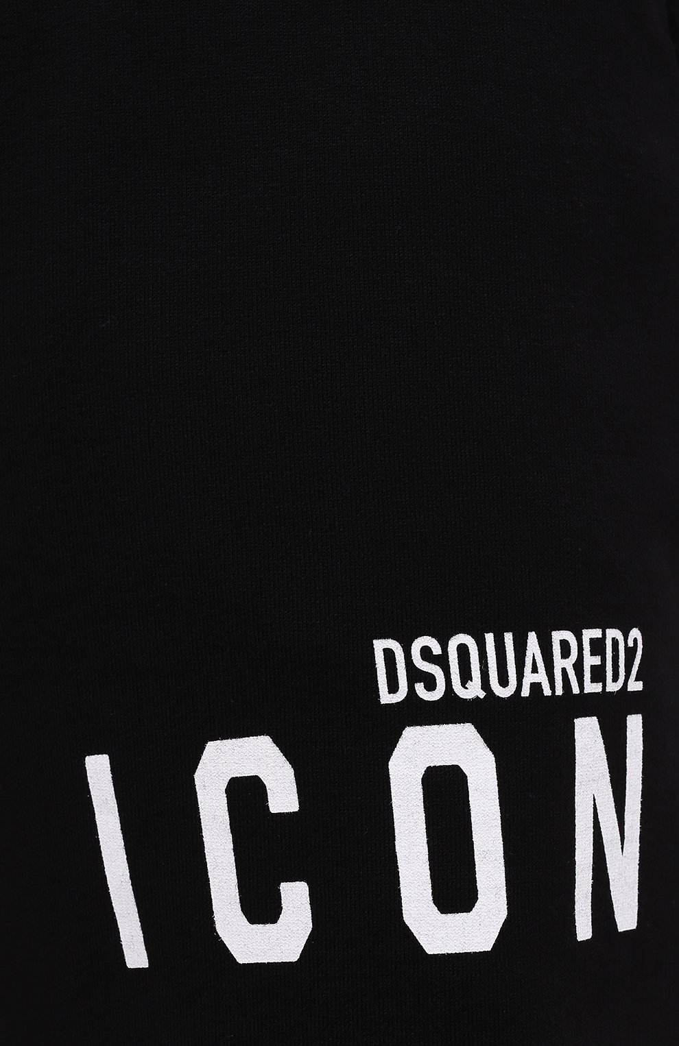 Мужские хлопковые шорты DSQUARED2 черного цвета, арт. S79MU0007/S25042 | Фото 5