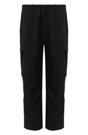 Мужской брюки-карго Y-3 черного цвета, арт. GK4594/M | Фото 1