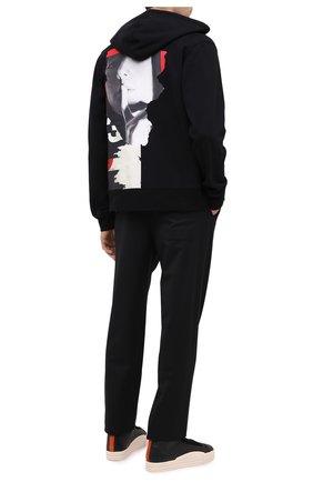 Мужская хлопковая толстовка Y-3 черного цвета, арт. GK4402/M | Фото 2