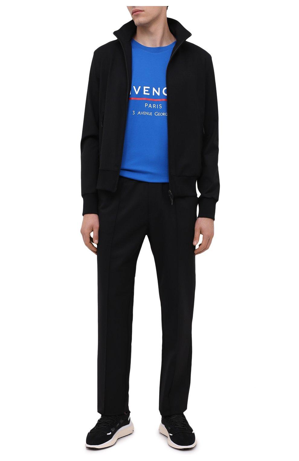 Мужские брюки Y-3 черного цвета, арт. FS3311/M | Фото 2