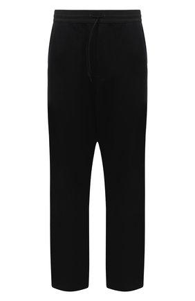 Мужской хлопковые брюки Y-3 черного цвета, арт. FN3390/M | Фото 1