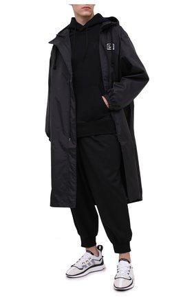 Мужской хлопковое худи Y-3 черного цвета, арт. FN3379/M | Фото 2
