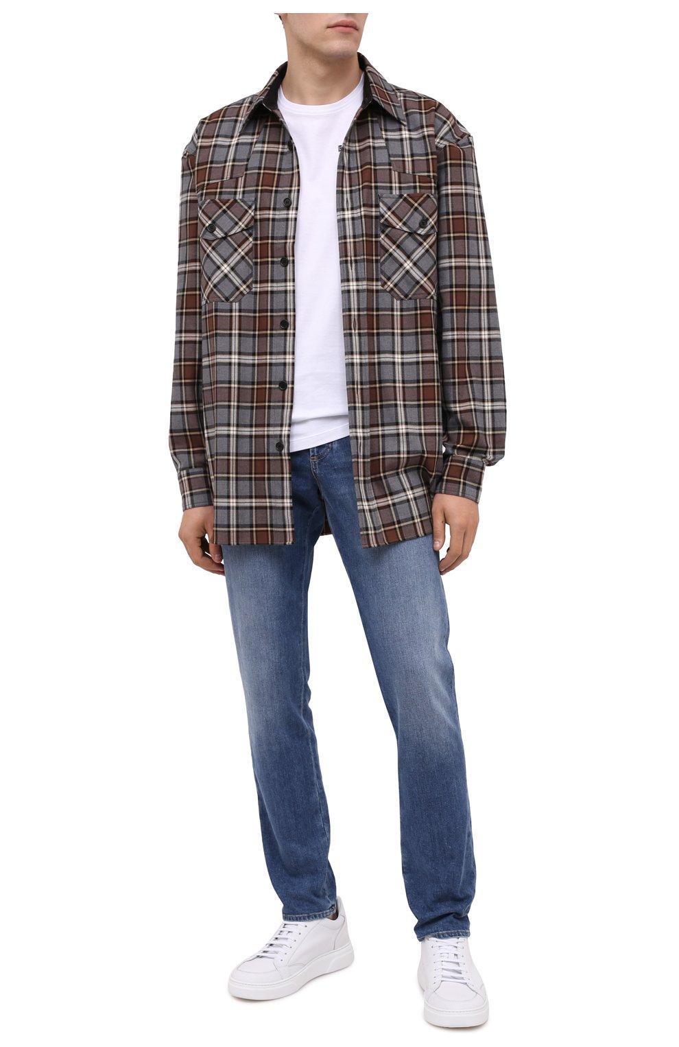 Мужская хлопковая футболка BOGNER белого цвета, арт. 58542724 | Фото 2