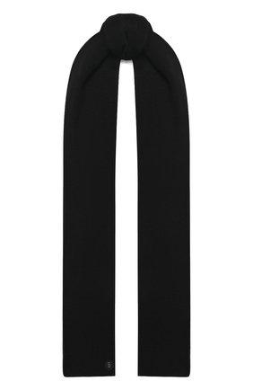 Мужской шарф BOGNER черного цвета, арт. 98106125   Фото 1