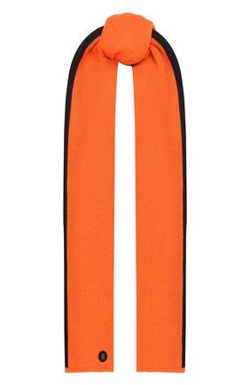 Мужской шарф BOGNER оранжевого цвета, арт. 98106125 | Фото 1
