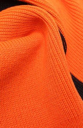 Мужской шарф BOGNER оранжевого цвета, арт. 98106125 | Фото 2