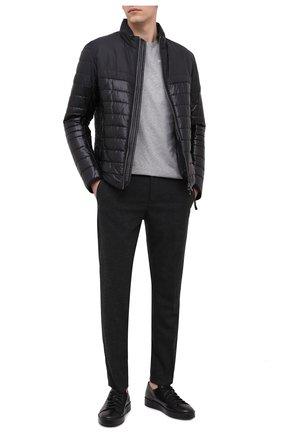 Мужской брюки BOGNER темно-серого цвета, арт. 18383337 | Фото 2