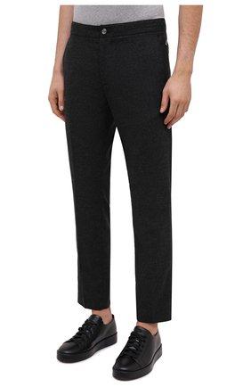 Мужские брюки BOGNER темно-серого цвета, арт. 18383337 | Фото 3
