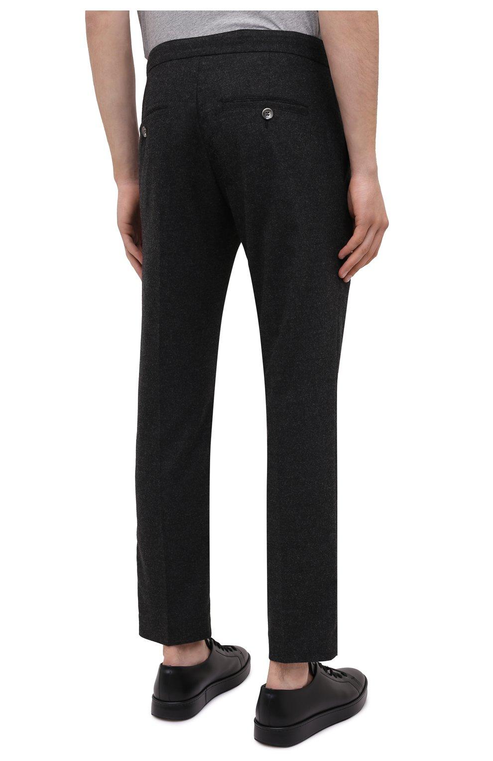 Мужские брюки BOGNER темно-серого цвета, арт. 18383337 | Фото 4
