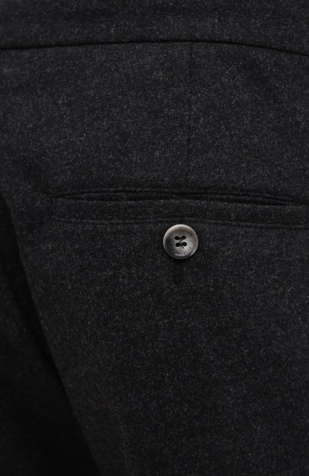 Мужские брюки BOGNER темно-серого цвета, арт. 18383337 | Фото 5