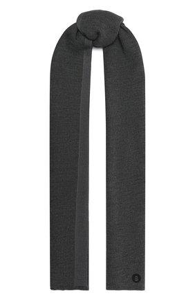 Мужской шарф BOGNER серого цвета, арт. 98106125 | Фото 1
