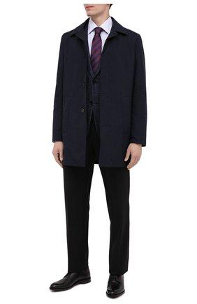 Мужская хлопковая сорочка CANALI синего цвета, арт. X05/GD01974   Фото 2