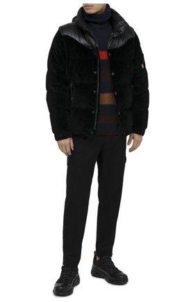 Мужская пуховая куртка 2 moncler 1952 MONCLER GENIUS черного цвета, арт. F2-092-1A534-00-57009 | Фото 2