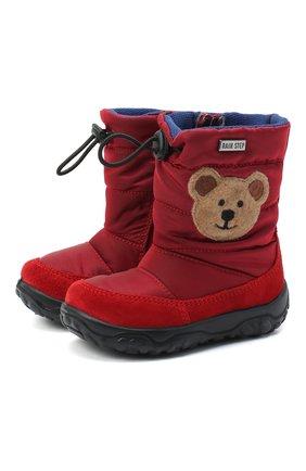 Детские сапоги FALCOTTO красного цвета, арт. 0013001427/01 | Фото 1
