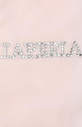 Детские колготки LA PERLA розового цвета, арт. 42814/4-6 | Фото 2
