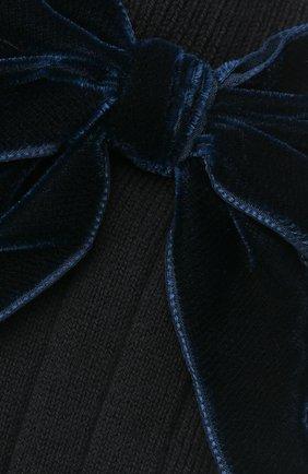 Детские хлопковые носки LA PERLA синего цвета, арт. 47872/3-6 | Фото 2