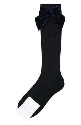 Детские хлопковые носки LA PERLA синего цвета, арт. 47872/7-8 | Фото 1