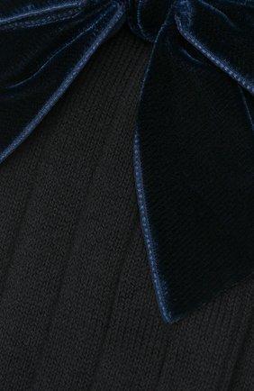 Детские хлопковые носки LA PERLA синего цвета, арт. 47872/7-8 | Фото 2