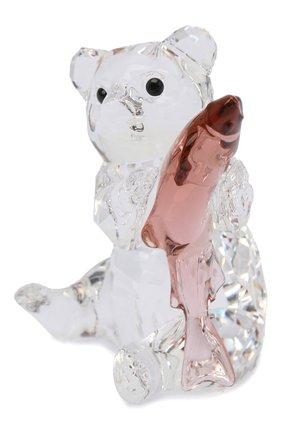 Мужского скульптура bear with fish SWAROVSKI разноцветного цвета, арт. 5536772   Фото 2