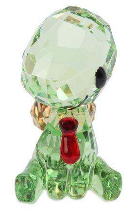 Мужского скульптура shelly the turtle SWAROVSKI зеленого цвета, арт. 5506809   Фото 1