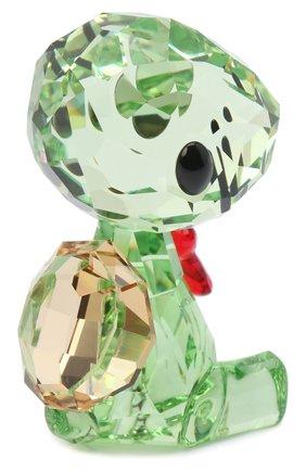 Мужского скульптура shelly the turtle SWAROVSKI зеленого цвета, арт. 5506809   Фото 2