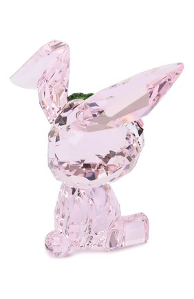 Скульптура lucky the rabbit SWAROVSKI розового цвета, арт. 5506811 | Фото 2