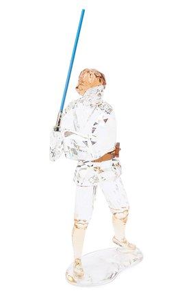 Мужского скульптура star wars - luke skywalker SWAROVSKI прозрачного цвета, арт. 5506806   Фото 2