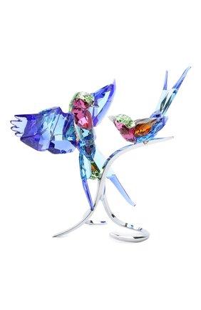 Мужского скульптура lilac - breasted rollers SWAROVSKI разноцветного цвета, арт. 5258370   Фото 1
