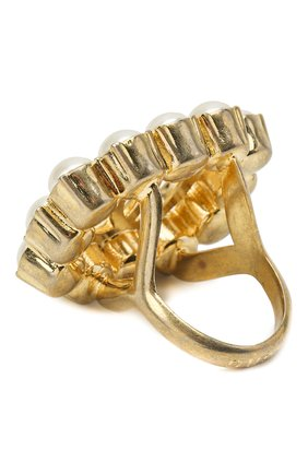 Женское кольцо GUCCI золотого цвета, арт. 632816/I4620   Фото 2 (Материал: Металл)