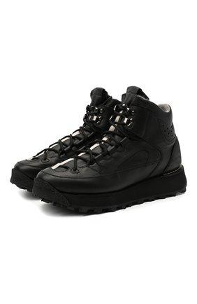 Мужские кожаные ботинки ACNE STUDIOS черного цвета, арт. BD0122 | Фото 1