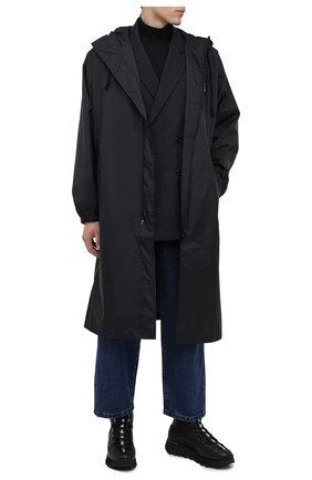 Мужские кожаные ботинки ACNE STUDIOS черного цвета, арт. BD0122 | Фото 2