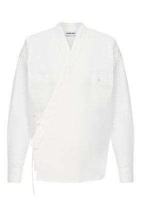 Мужская рубашка AMBUSH белого цвета, арт. BMGA014F20FAB001 | Фото 1