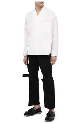 Мужская рубашка AMBUSH белого цвета, арт. BMGA014F20FAB001 | Фото 2