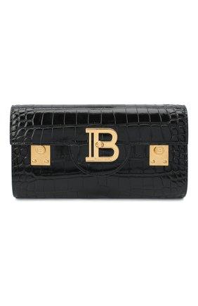 Женская поясная сумка b-buzz 23 BALMAIN черного цвета, арт. UN0S594/LVCW   Фото 1