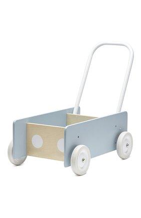 Детского игрушечная тележка-ходунки KID`S CONCEPT серого цвета, арт. 1000279 | Фото 1