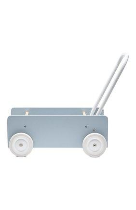 Детского игрушечная тележка-ходунки KID`S CONCEPT серого цвета, арт. 1000279 | Фото 2