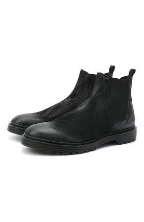 Мужские кожаные челси PREMIATA черного цвета, арт. 31720/VINZ | Фото 1
