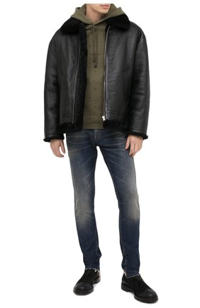 Мужские кожаные челси PREMIATA черного цвета, арт. 31720/VINZ | Фото 2