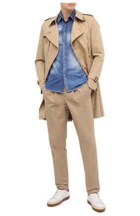 Мужская джинсовая рубашка PREMIUM MOOD DENIM SUPERIOR синего цвета, арт. F21 512CM1/LE0 DENIM | Фото 2
