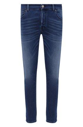 Мужские джинсы PREMIUM MOOD DENIM SUPERIOR темно-синего цвета, арт. F21 310337343/PAUL | Фото 1