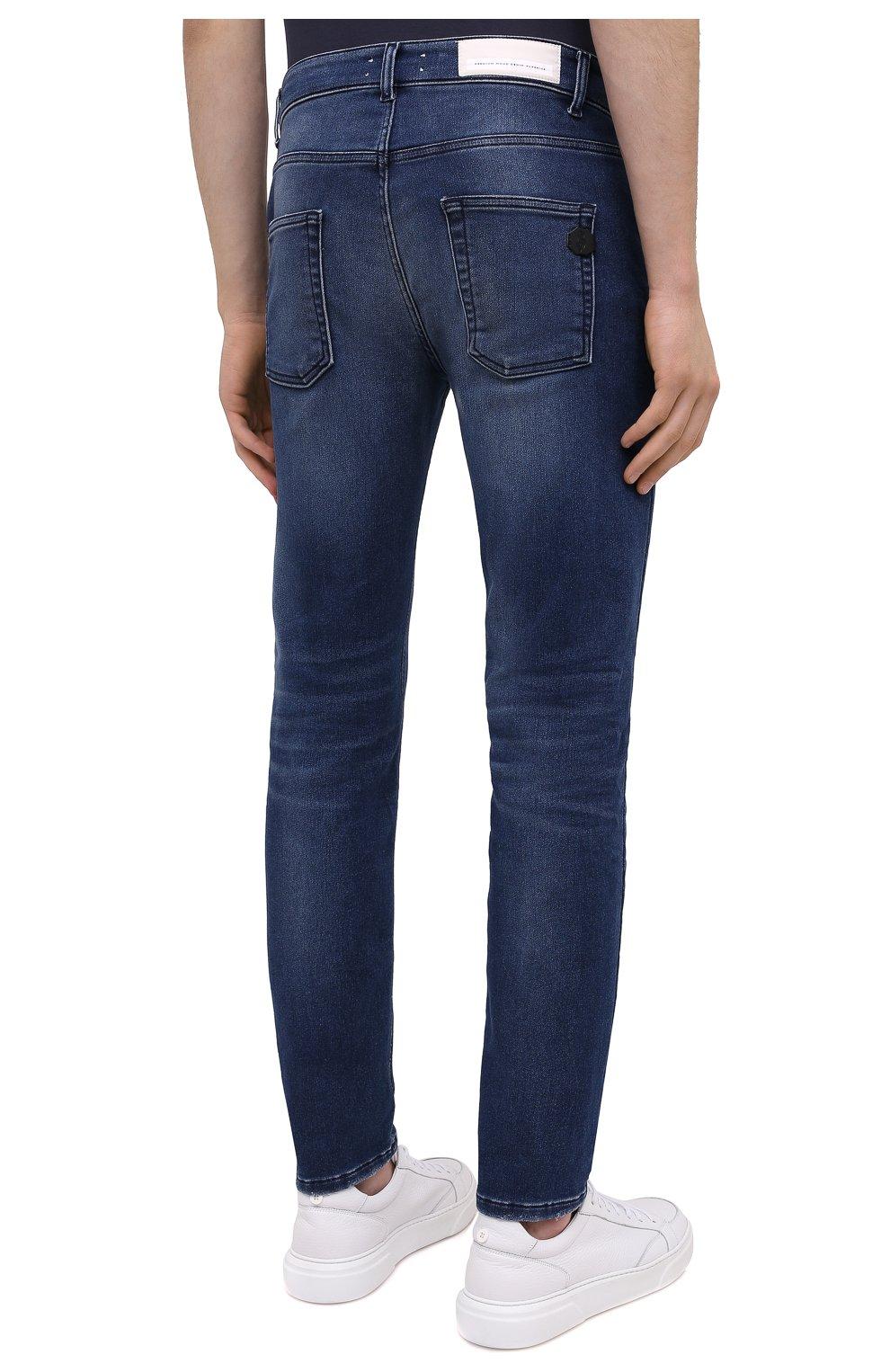 Мужские джинсы PREMIUM MOOD DENIM SUPERIOR темно-синего цвета, арт. F21 310337343/PAUL | Фото 4
