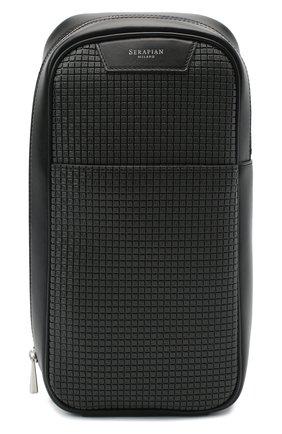 Мужской комбинированный рюкзак stepan SERAPIAN темно-серого цвета, арт. SSTEPMML7131M16A | Фото 1