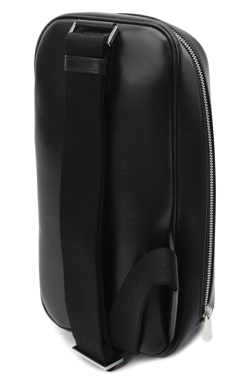 Мужской комбинированный рюкзак stepan SERAPIAN темно-серого цвета, арт. SSTEPMML7131M16A | Фото 3 (Материал: Натуральная кожа, Экокожа; Ремень/цепочка: На ремешке)