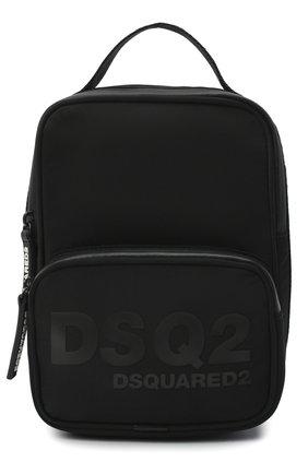 Мужская текстильная сумка DSQUARED2 черного цвета, арт. CBM0008 11703157 | Фото 1