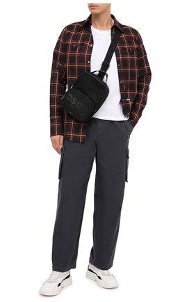 Мужская текстильная сумка DSQUARED2 черного цвета, арт. CBM0008 11703157 | Фото 2