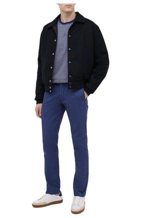 Мужская хлопковая футболка BILLIONAIRE темно-синего цвета, арт. W20C MTK4512 BTE014N | Фото 2