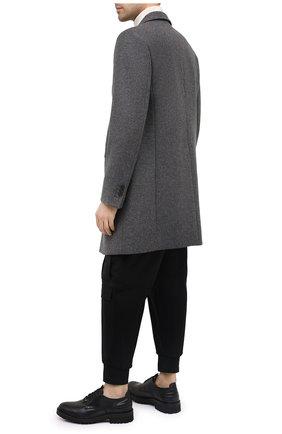 Мужской кожаные дерби HUGO черного цвета, арт. 50441147 | Фото 2