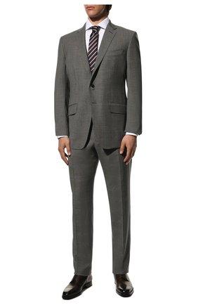 Мужской шерстяной костюм TOM FORD серого цвета, арт. 811R26/21454C | Фото 1